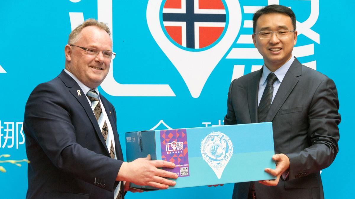 H 229 Per P 229 Norsk Laksefest For 10 Milliarder Kroner I Kina