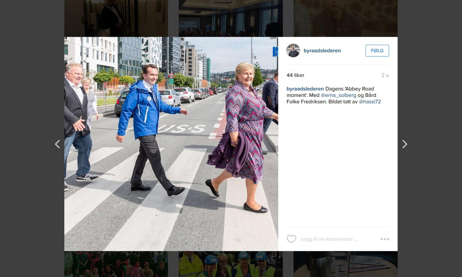 Oslo Høyre forsøker å vise fram litt mer av politikerne sine enn bare det politiske i sosiale medier, forteller Maria Göthner.