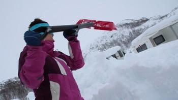 CreaStore mengder snø i Sirdal februar 2014.