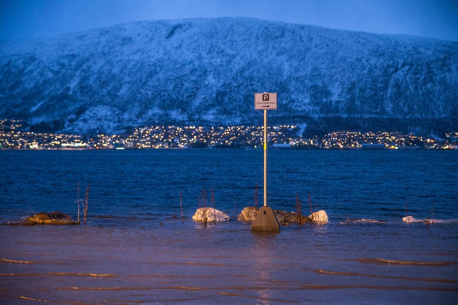 Parkering kun med gyldig båtførerbevis, skriver fotografen.