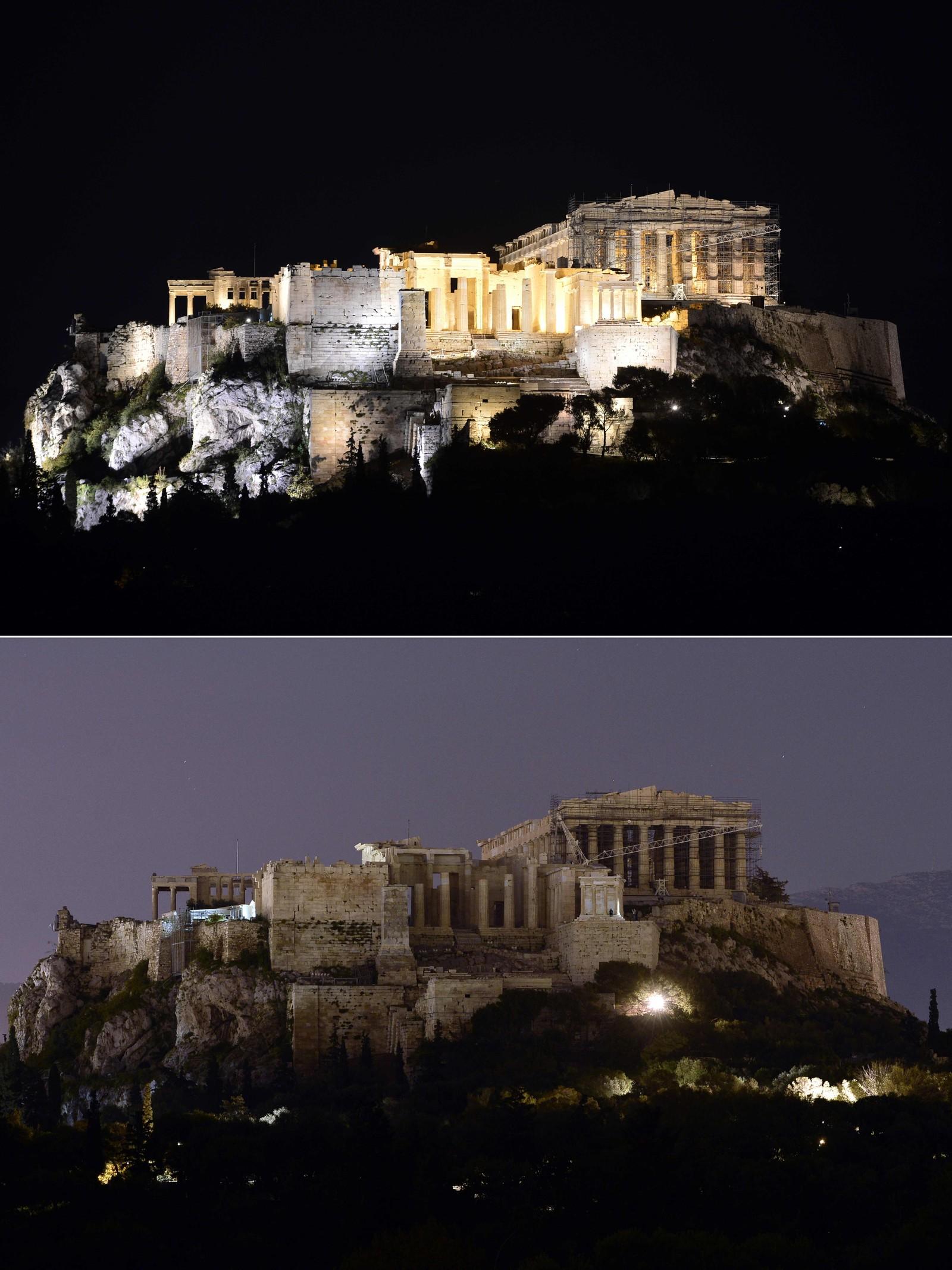 Akropolis i Athen, Hellas.