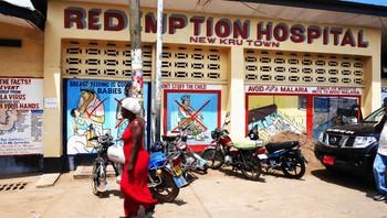 Redemption-sykehuset utenfor Monrovia