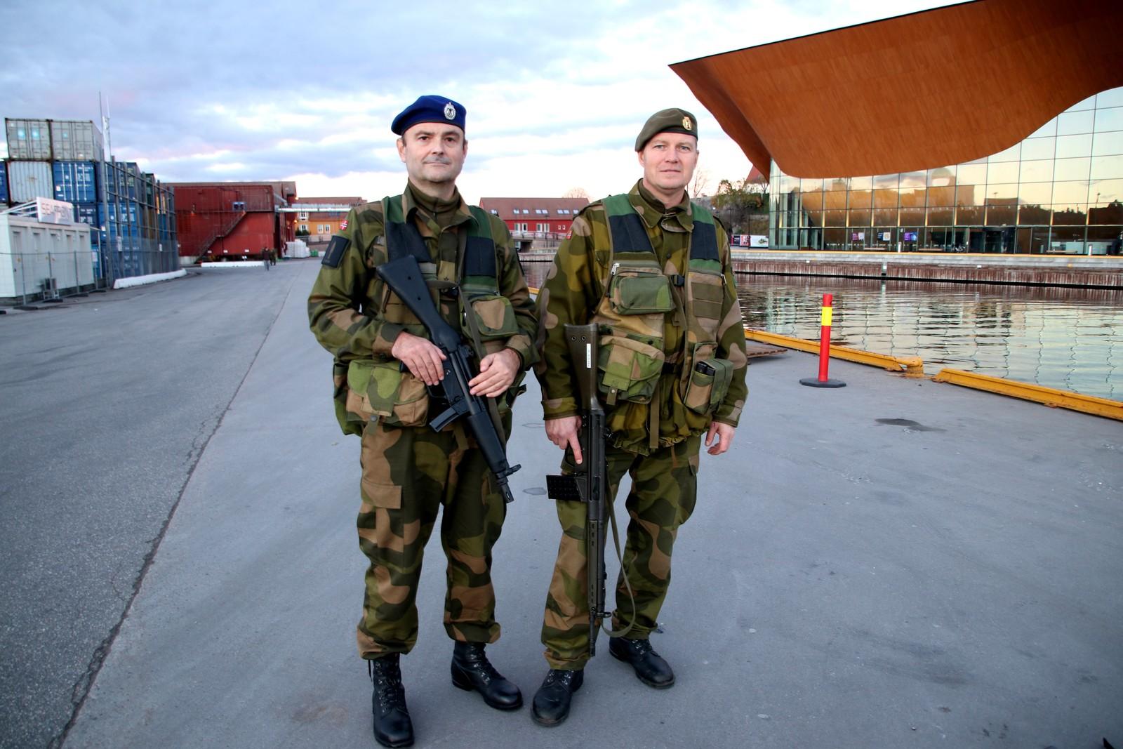Knut Olav Tveit og Stig Vang