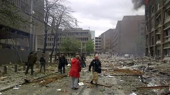 DIREKTE: Bombeeksplosjon i Oslo