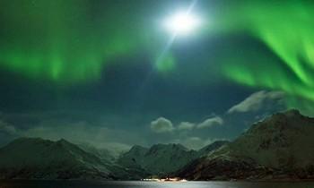 Video Nordlys Øksfjord