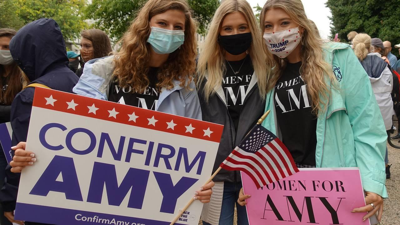 Callie Blanchard (22), Kristen Mason (21) og Lexi Ridings (21) fra Sør-Carolina.