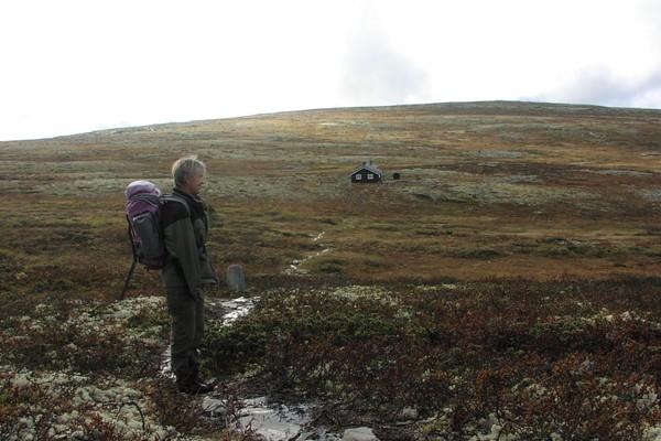 På vei til Jammerdalsbu - Foto: DNT Oslo og Omegn