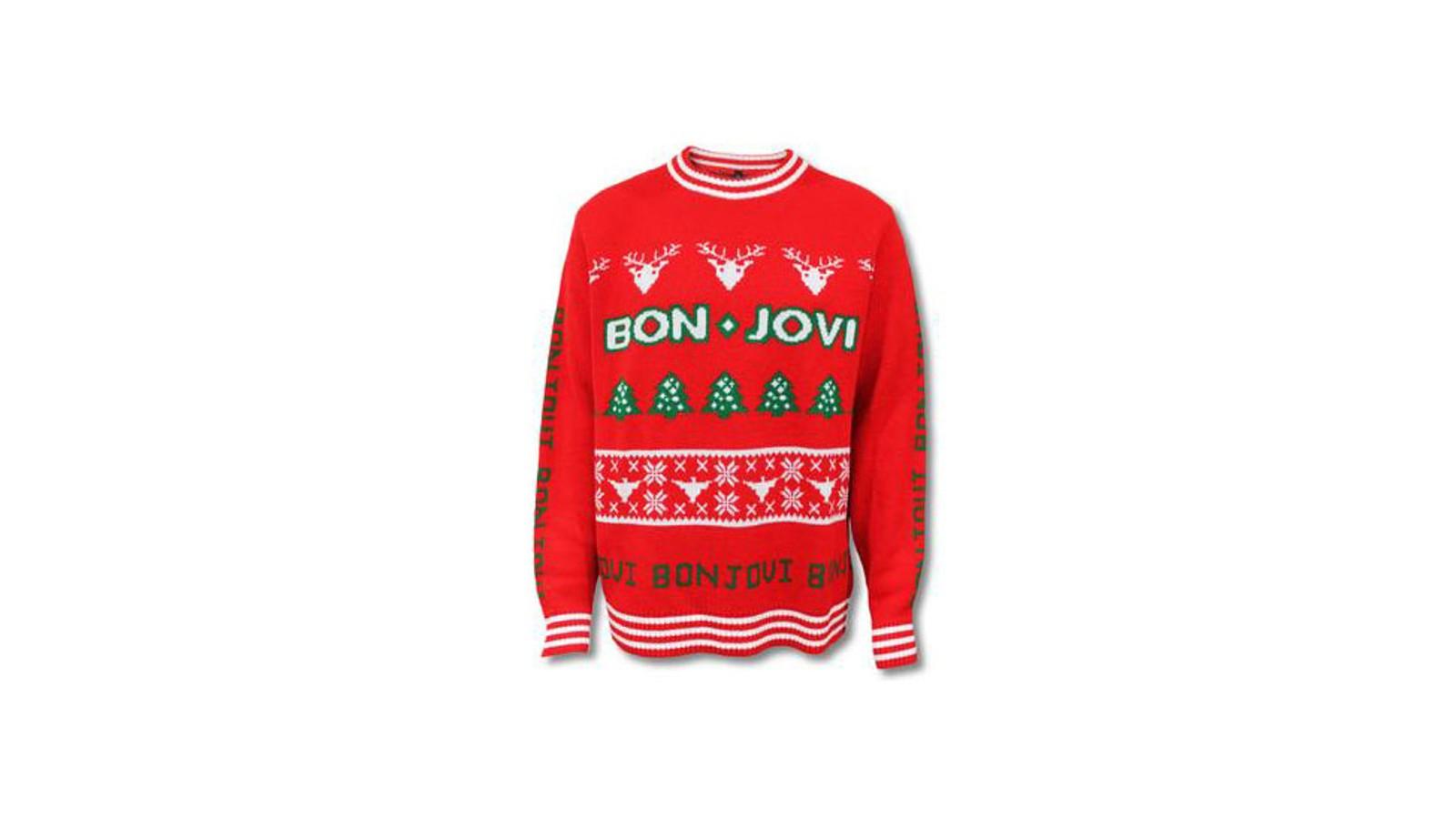 Noen julegensere er mer eksklusive enn andre, og Bon Jovi sin blir spesiallaget i jacquard til alle som forhåndsbestiller den. Et lydklipp med låta «Run Rudolph Run» sammen med denne genseren vil være en perfekt julegave til en Bon Jovi-fan.