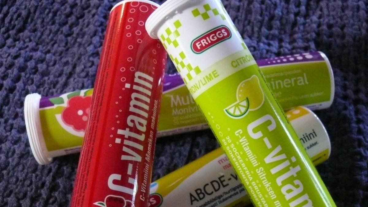 vitamin c brusetabletter