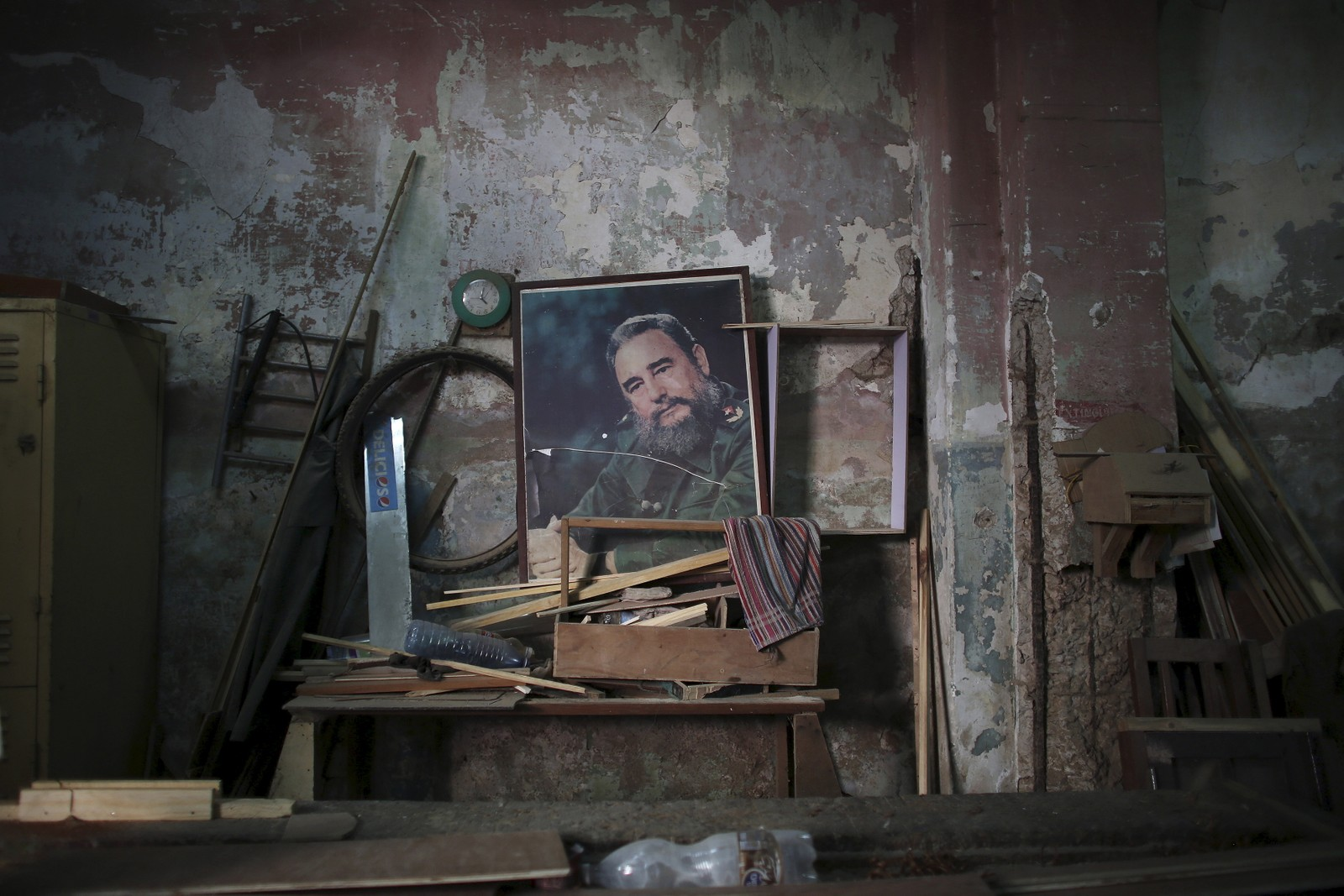 Fidel Castro er fortsatt den store revolusjonhelten på Cuba.