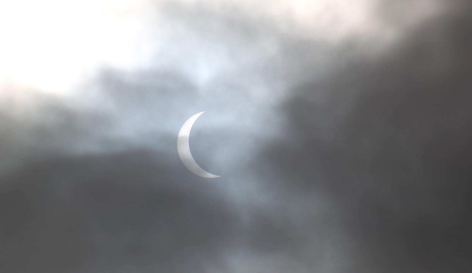 Solformørkelsen 20. Mars, sett fra Rissa
