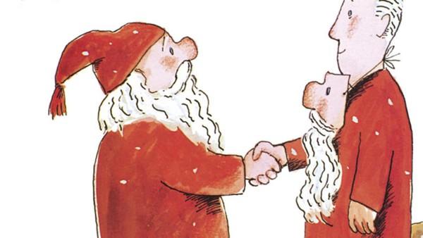 En julefortelling av Alf Prøysen. Tegninger: Hans Normann Dahl. Forteller: Svein Erik Brodal.