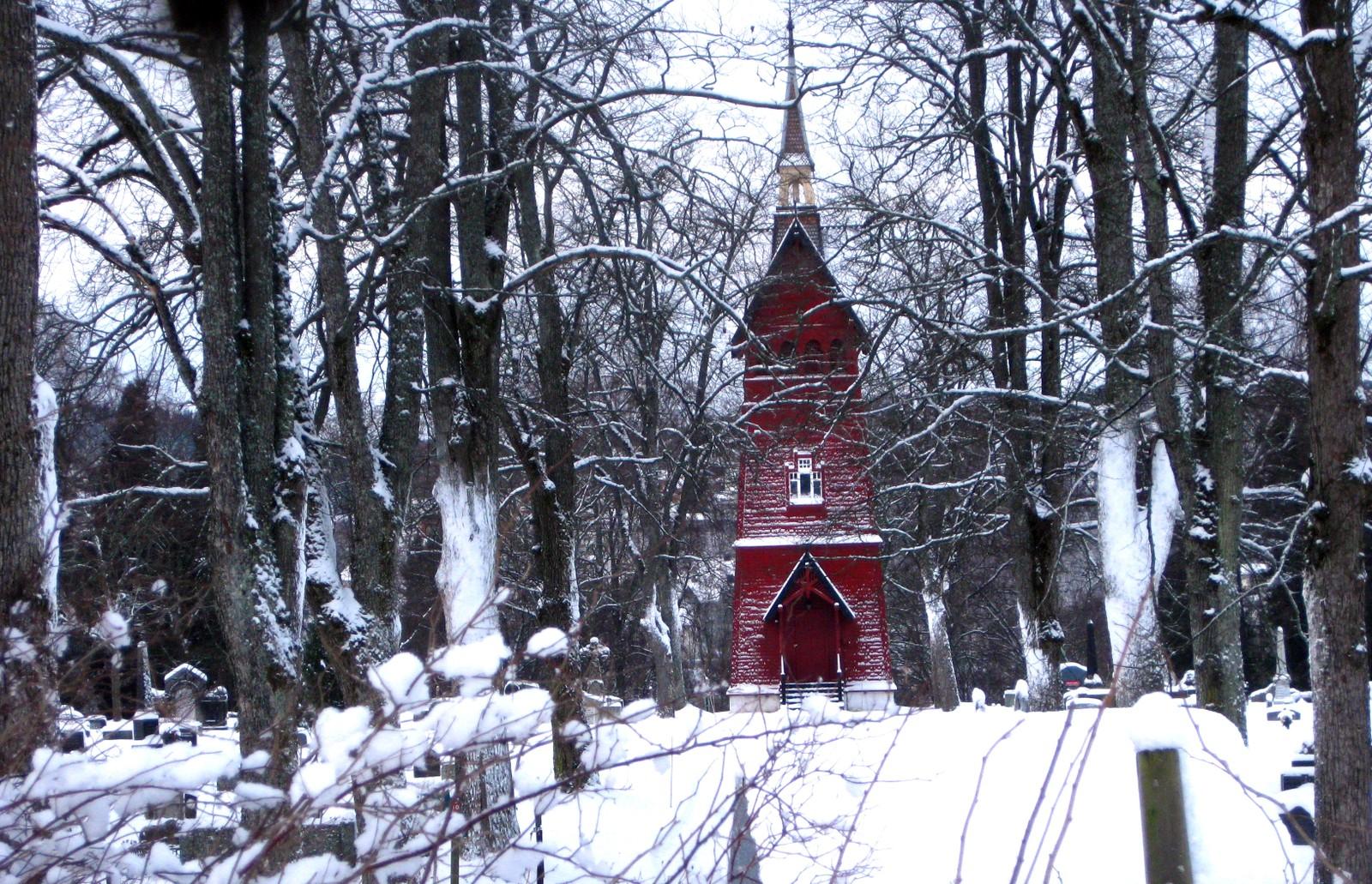 Tårnet på Tilfredshet kapell
