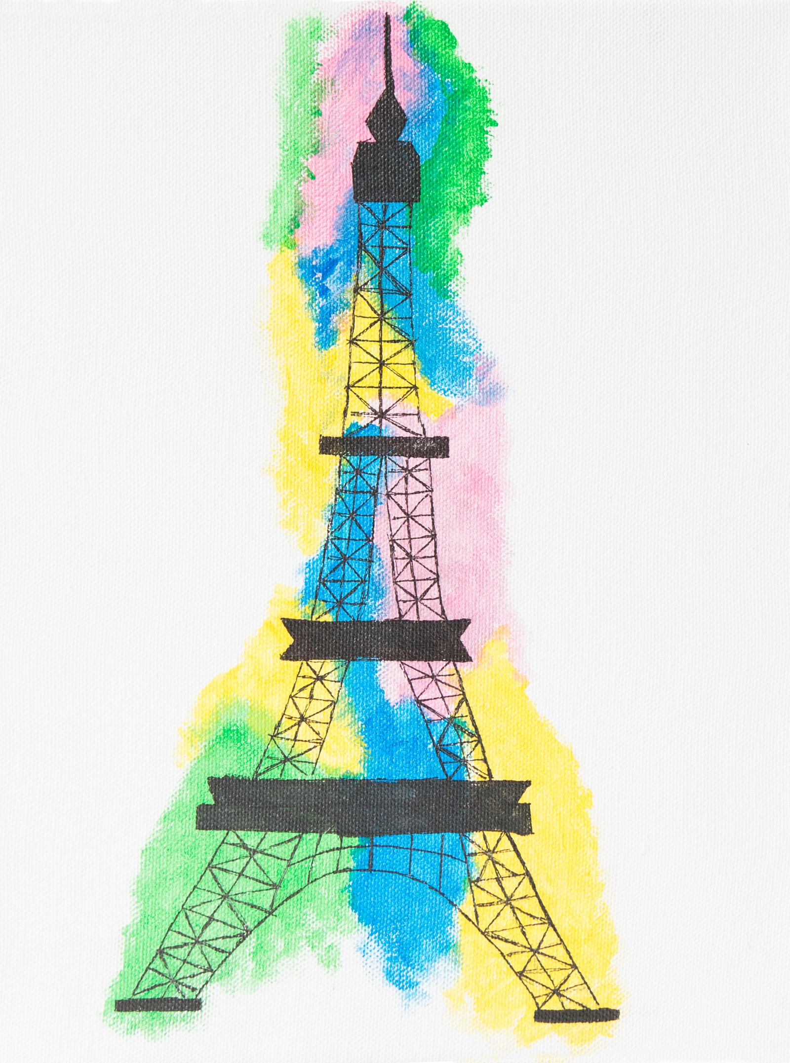 Eiffeltårnet - Kine Haugeplass, Aurland