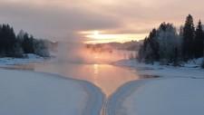 Eidsfossen i Våler - Foto: Finn Busk, Flisa