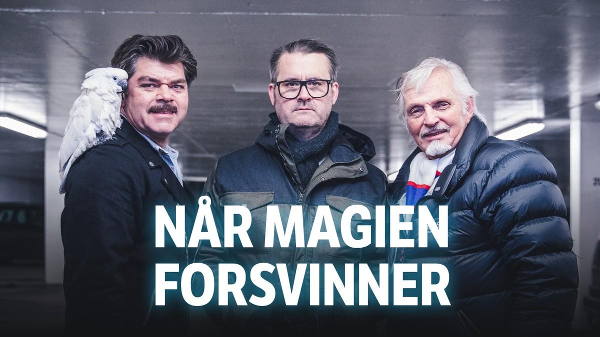 Fem man forsvinner