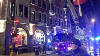 Brann i Bergen sentrum