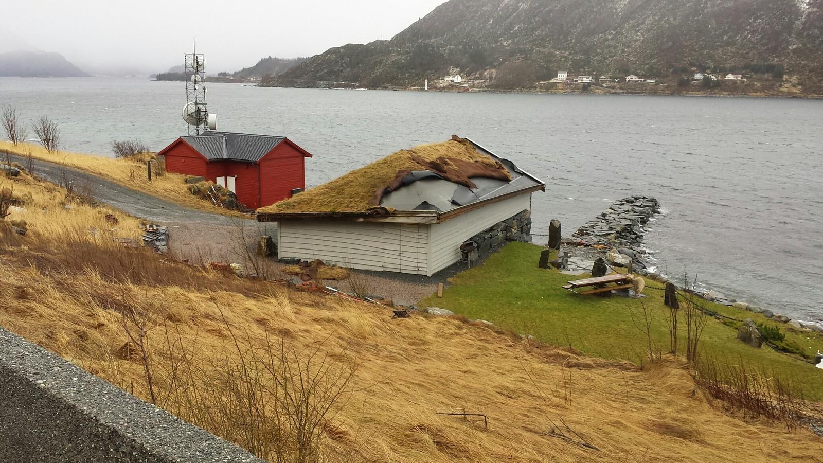Tor sine herjingar på Raudeberg i Vågsøy.