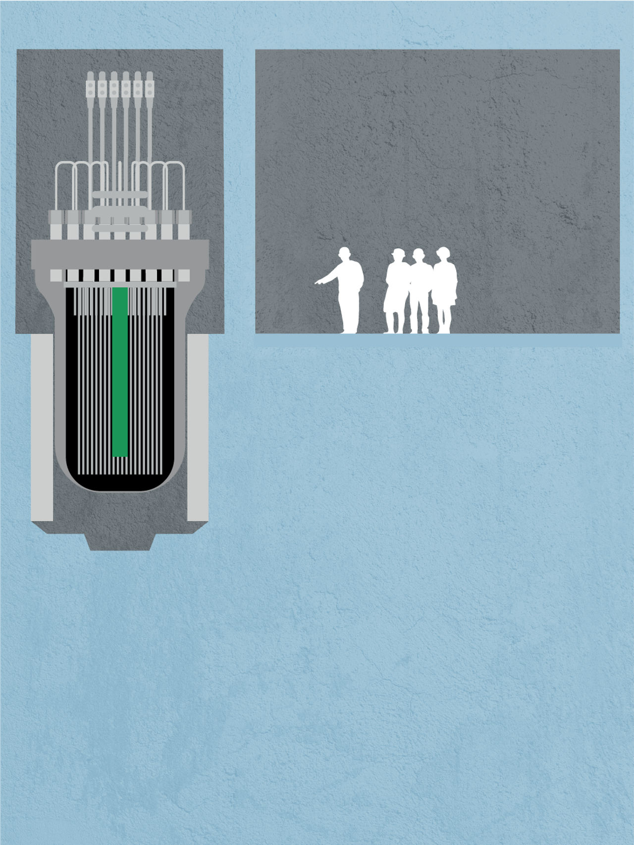 Atomreaktor illustrasjon del 1