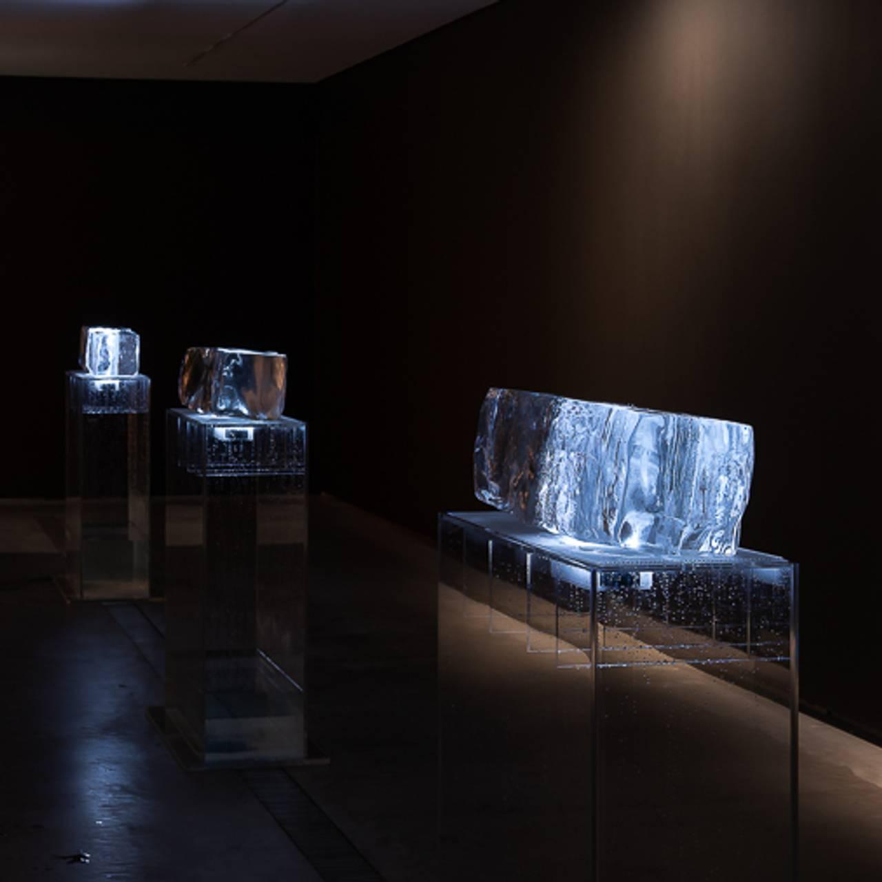 Fra utstillingen «RE________» av Sissel Tolaas på Astrup Fearnley Museet