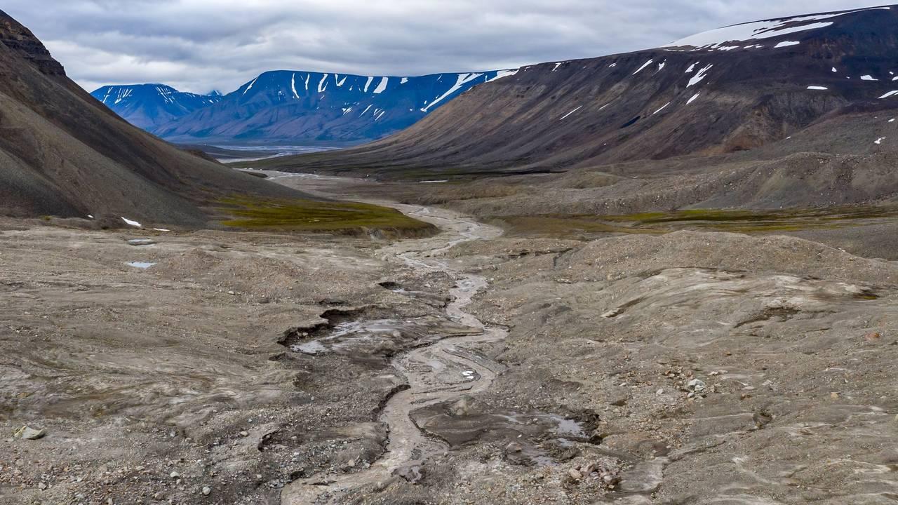 Bolterdalen på Svalbard