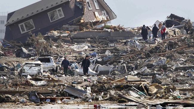 Jordskjelv Japan, 2011