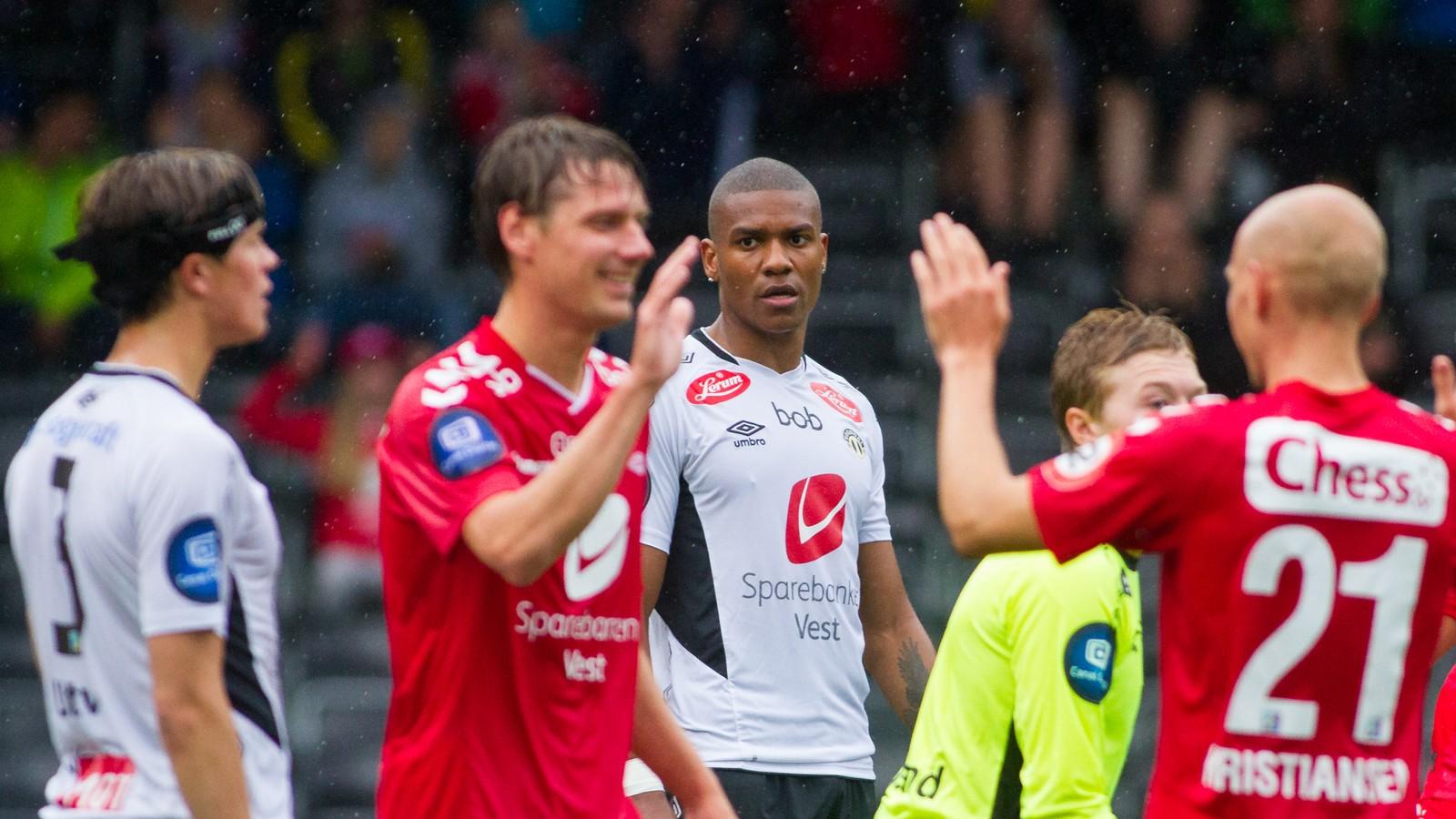 Treningskampen mellom Sogndal og Brann enda 2-2.