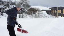 Snømåking - Foto: Meteorologene