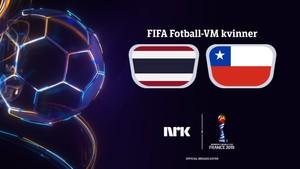 FIFA Fotball-VM kvinner: Thailand - Chile