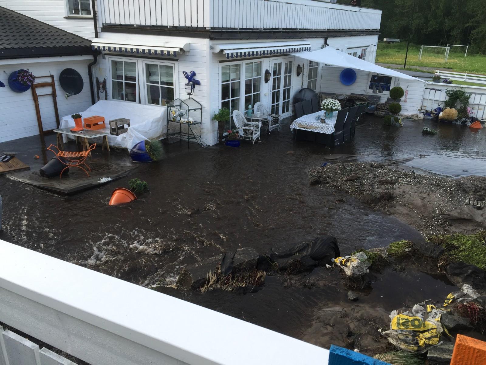 Vannlekkasje i Porsgrunn