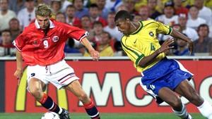 Fotball: Brasil-Norge