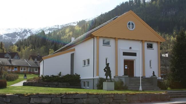 Svormuseet på Grodås. Foto: Ottar Starheim, NRK.