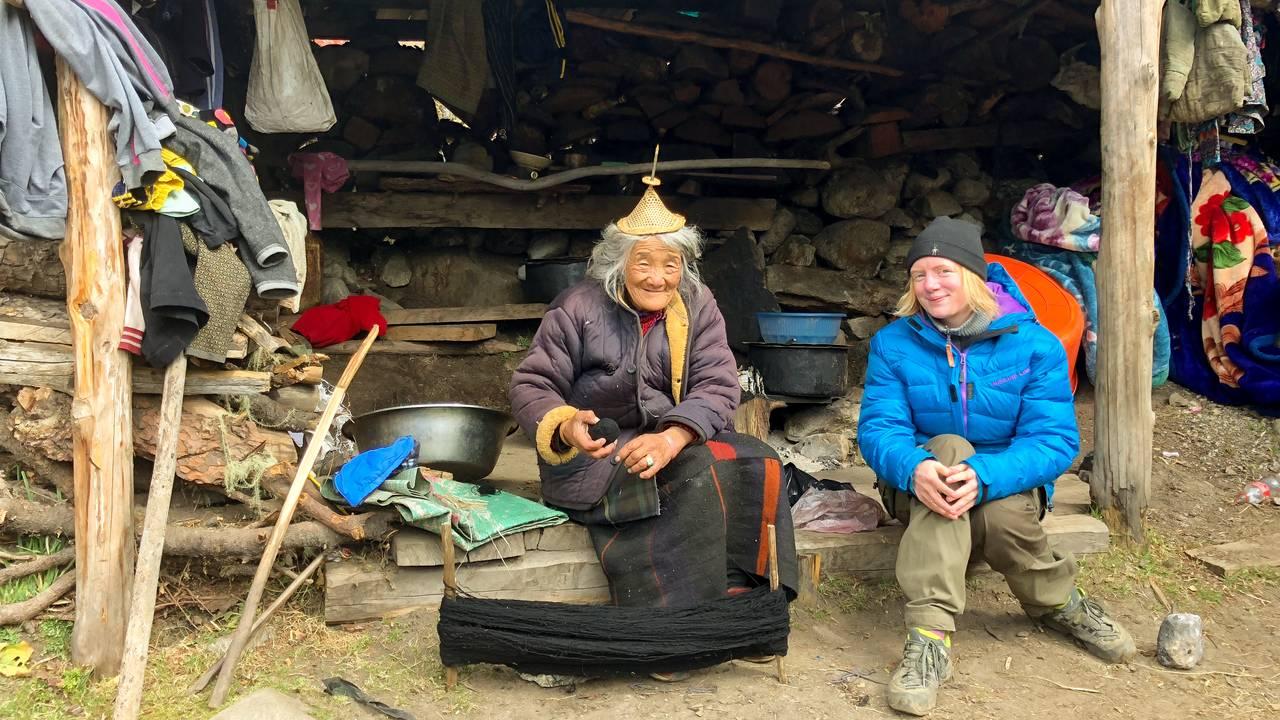 Erika Fatland i Bhutan