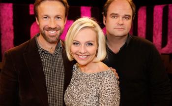 Video Linn Skåber med Thomas Giertsen og Atle Antonsen i «Litt av et liv»
