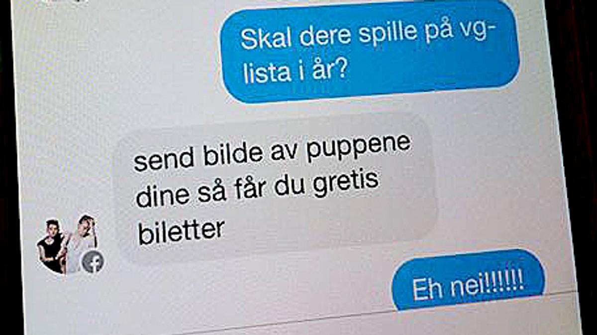 telefonnummer norge facebook chat