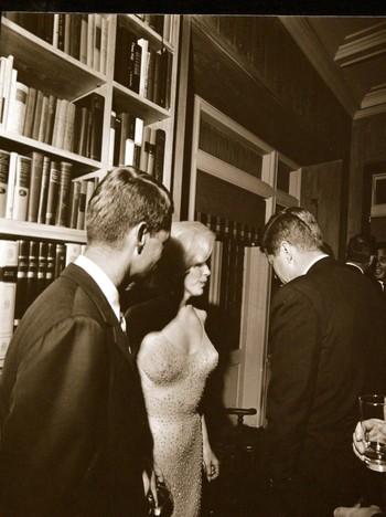 Kennedy og Marilyn