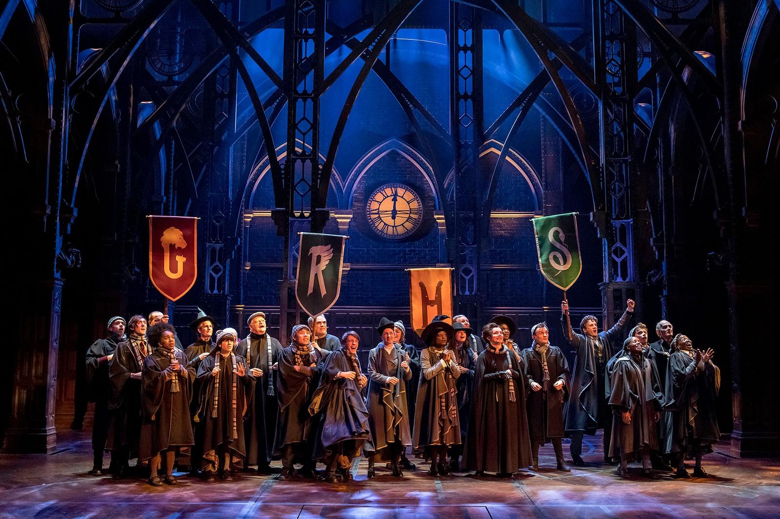 TILBAKE TIL GALTVORT: I historien i «Harry Potter and the Cursed Child» er det Harry Potters sønn, Albus Potter, som studerer ved Galtvort høyere skole for hekseri og trolldom.