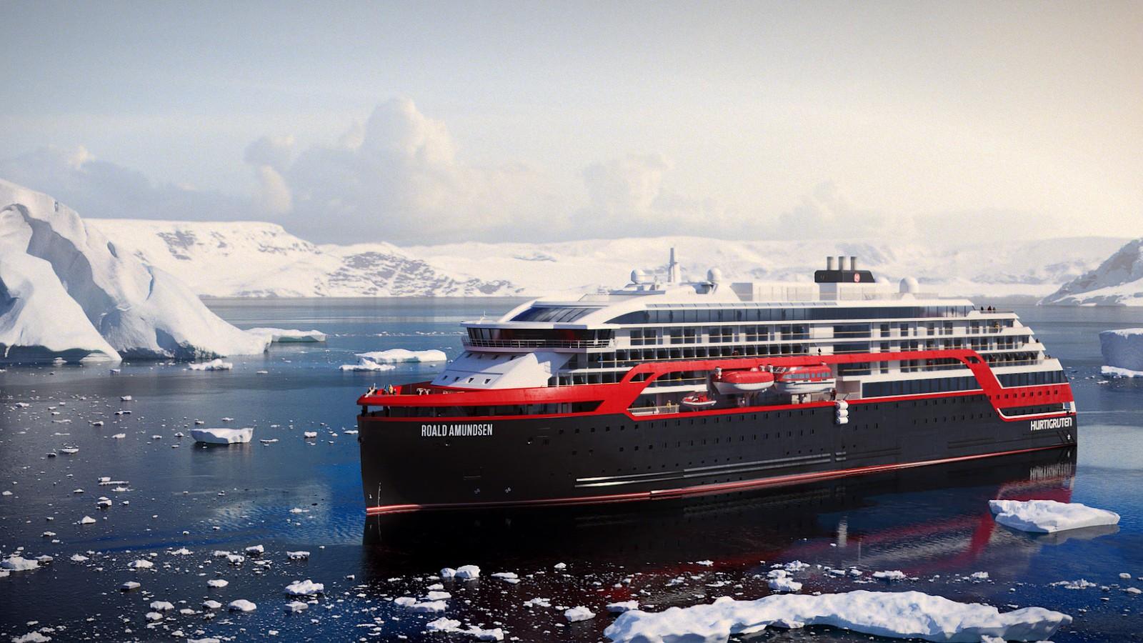 Hurtigrutens nye skip, MS «Roald Amundsen» og MS «Fridtjof Nansen», skal brukes til selskapets explorer-tilbud og ferdes blant annet rundt Svalbard og i Antarktis.