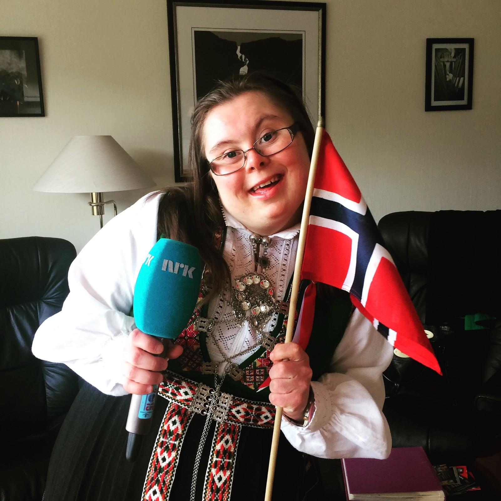 Nina Roska klar for livesending på NRK