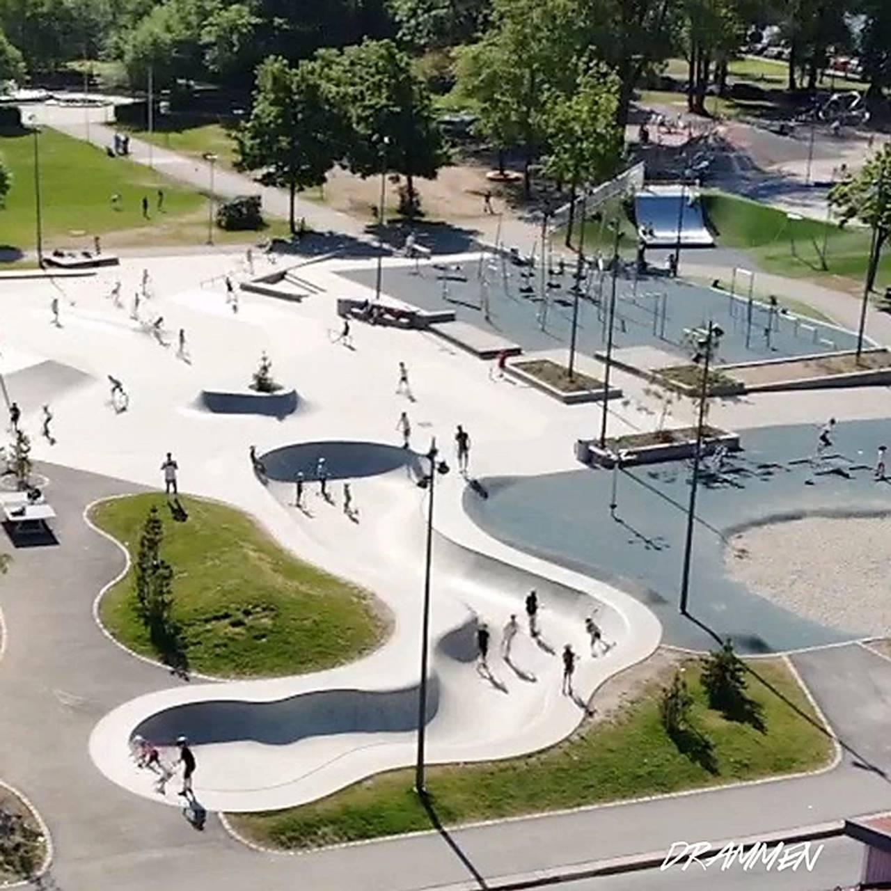 Skatepark i Drammen