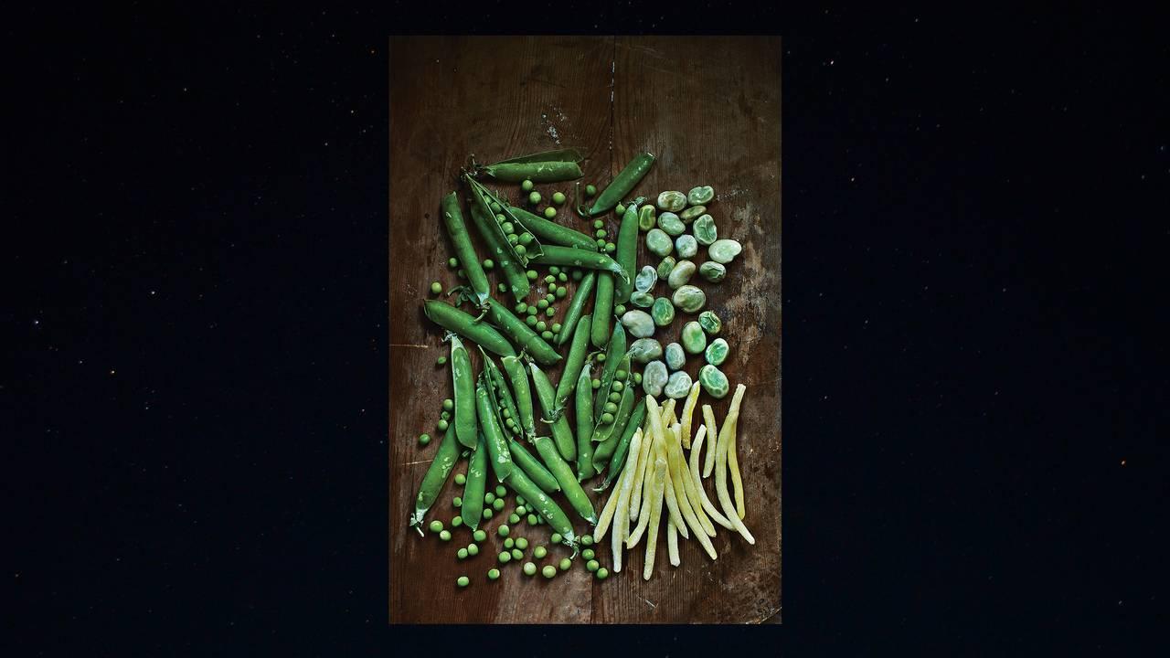Bilde fra boka «Bønner, erter, linser» av Jenny Damberg.