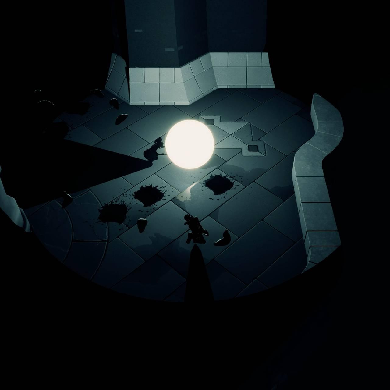 Skjermbilde fra spillet «Mørkredd».