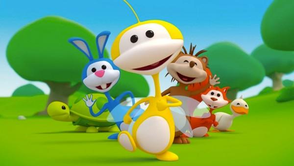 Belgisk animasjonsserie.  Den lille humla Uki opplever eventyr sammen med vennene sine.