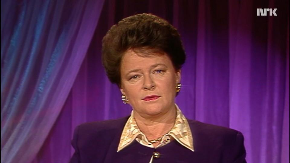 Statsministeren taler: Gro Harlem Brundtland 1992