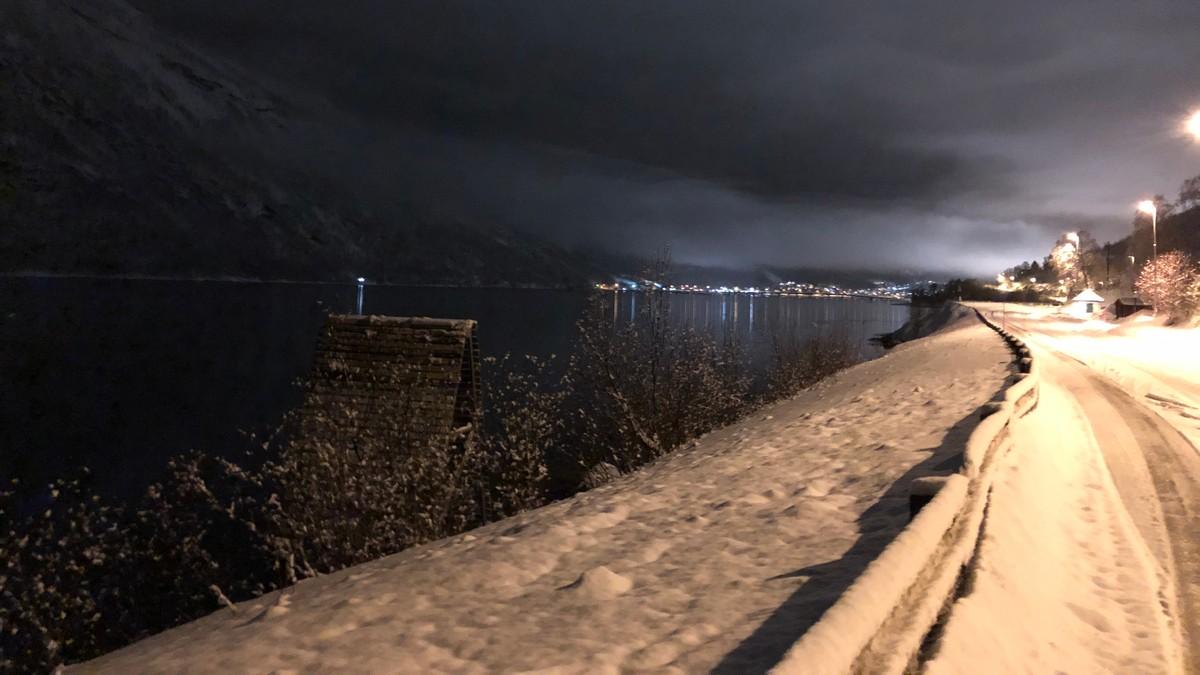 Krisestab i Narvik. Beisfjordveien stengt