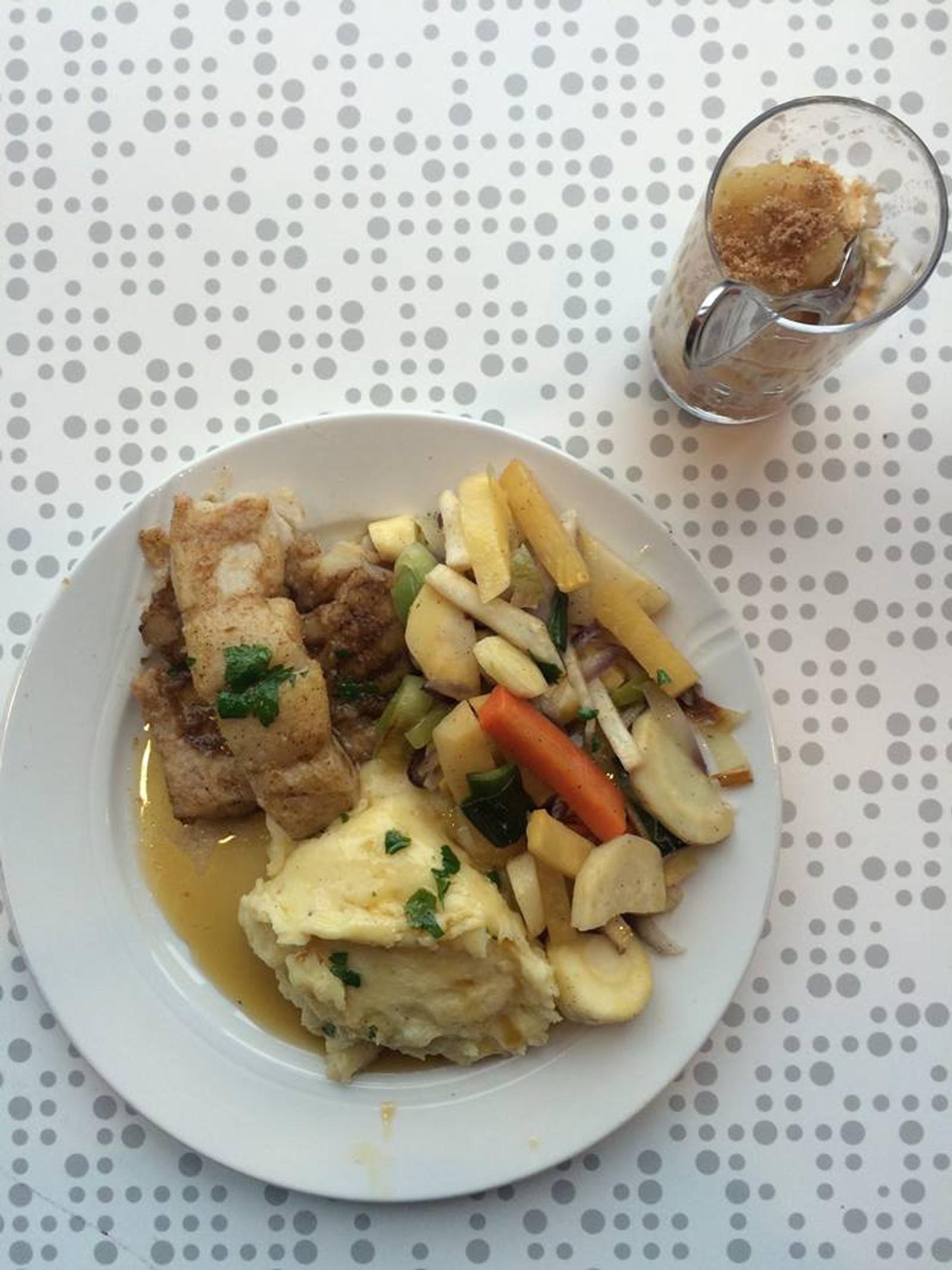 OLSVIKÅSEN: Testvinneren. Dette måltidet var en gourmetrestaurant verdig, mener panelet.