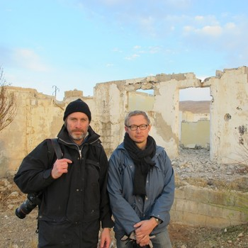 Niclas Hammarström og Magnus Falkehed i Syria 2013
