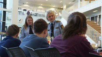 Påtaleleder Heidi Kløkstad på Bodø videregående skole