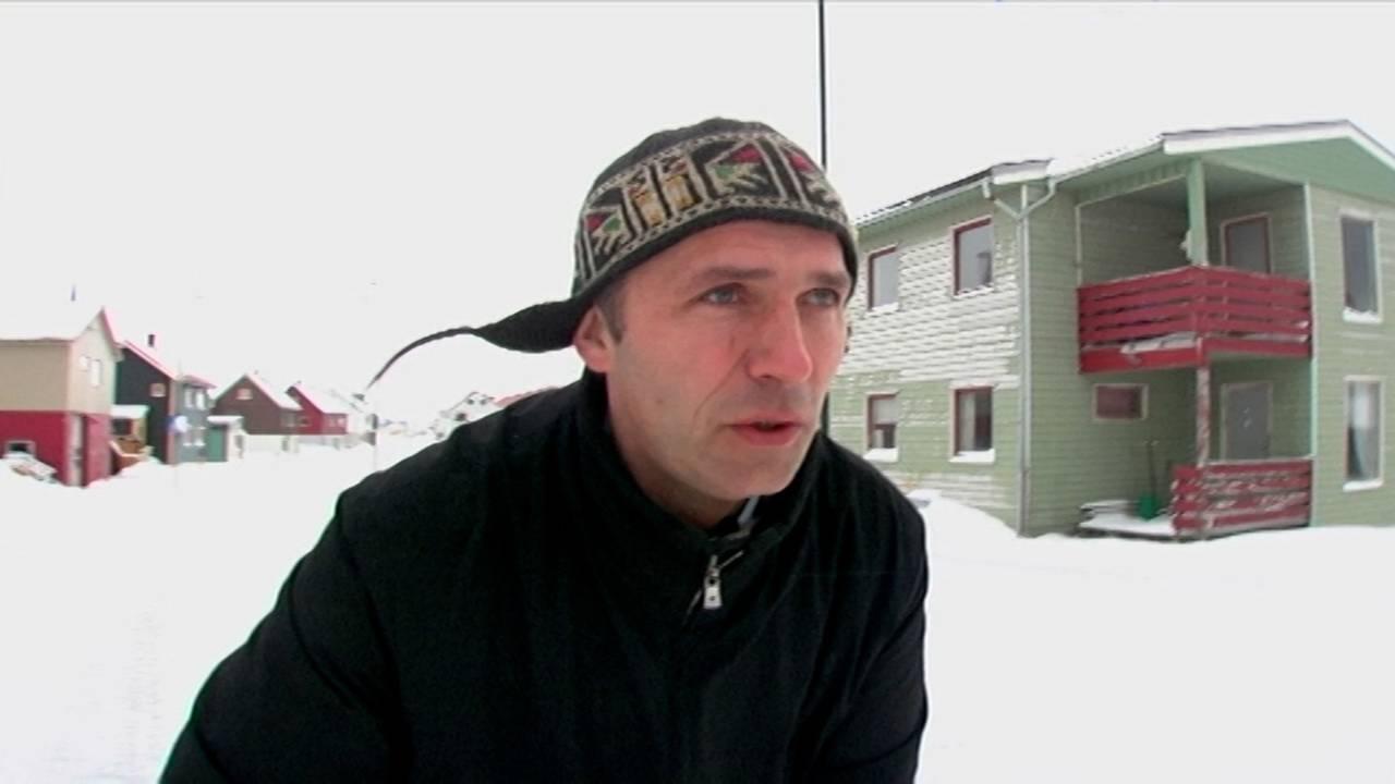Jens Stoltenberg i dokumentarfilmen Oljeberget