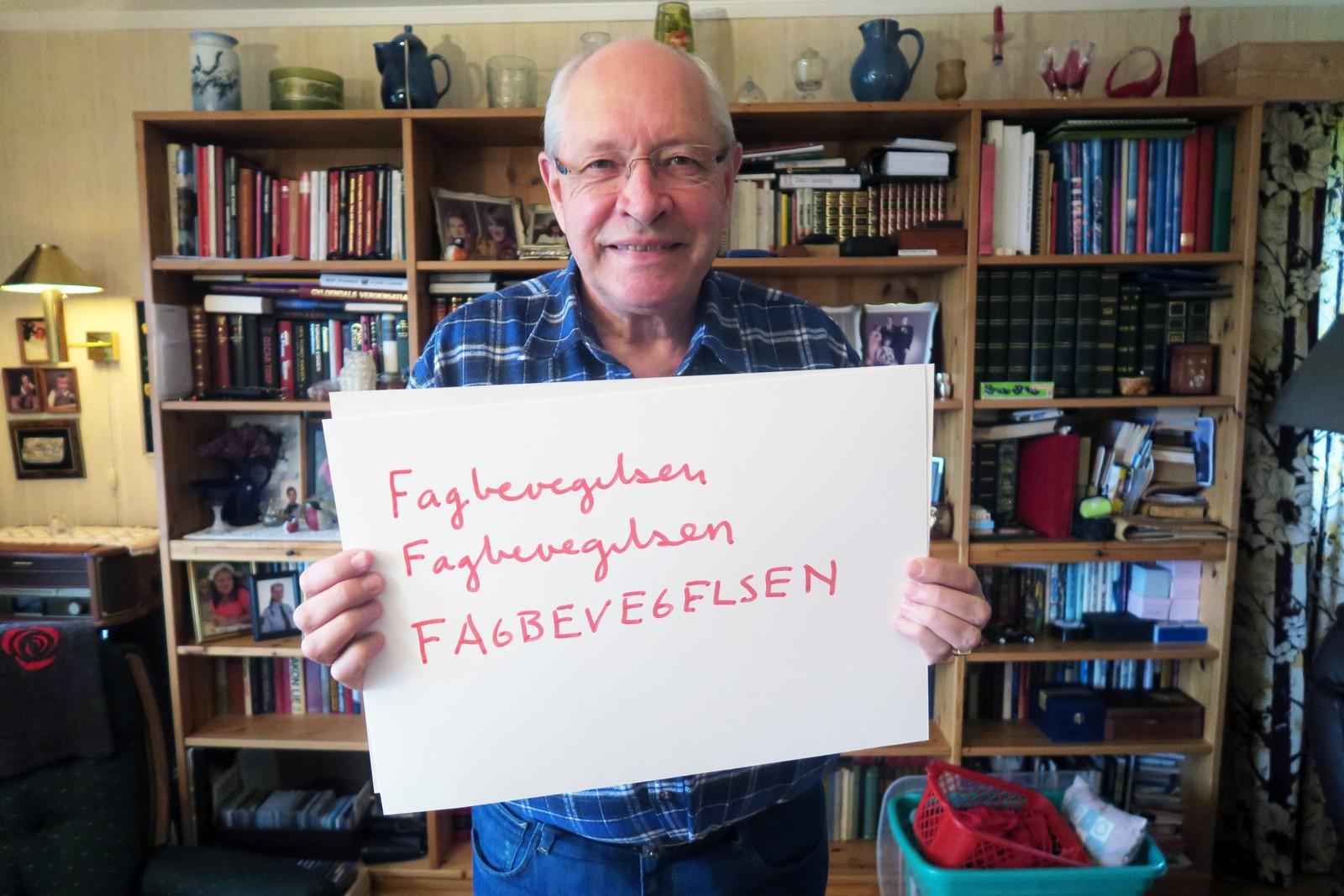 MARTIN KOLBERG (Ap): «Fagbevegelsen, fagbevegelsen, fagbevegelsen».